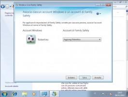 controllo genitori associazione utente a Windows Live Family Safety