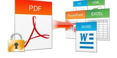 Come convertire i file pdf in vari formati modificabili