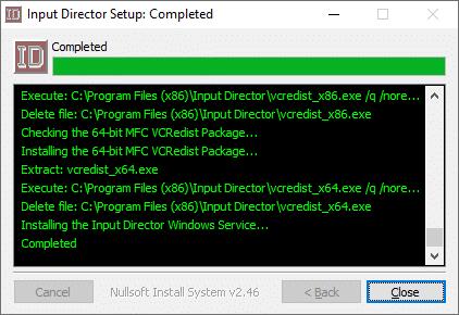 Installazione Input Director