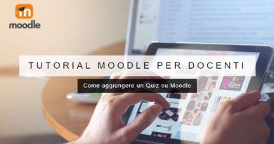 Come aggiungere un Quiz su Moodle